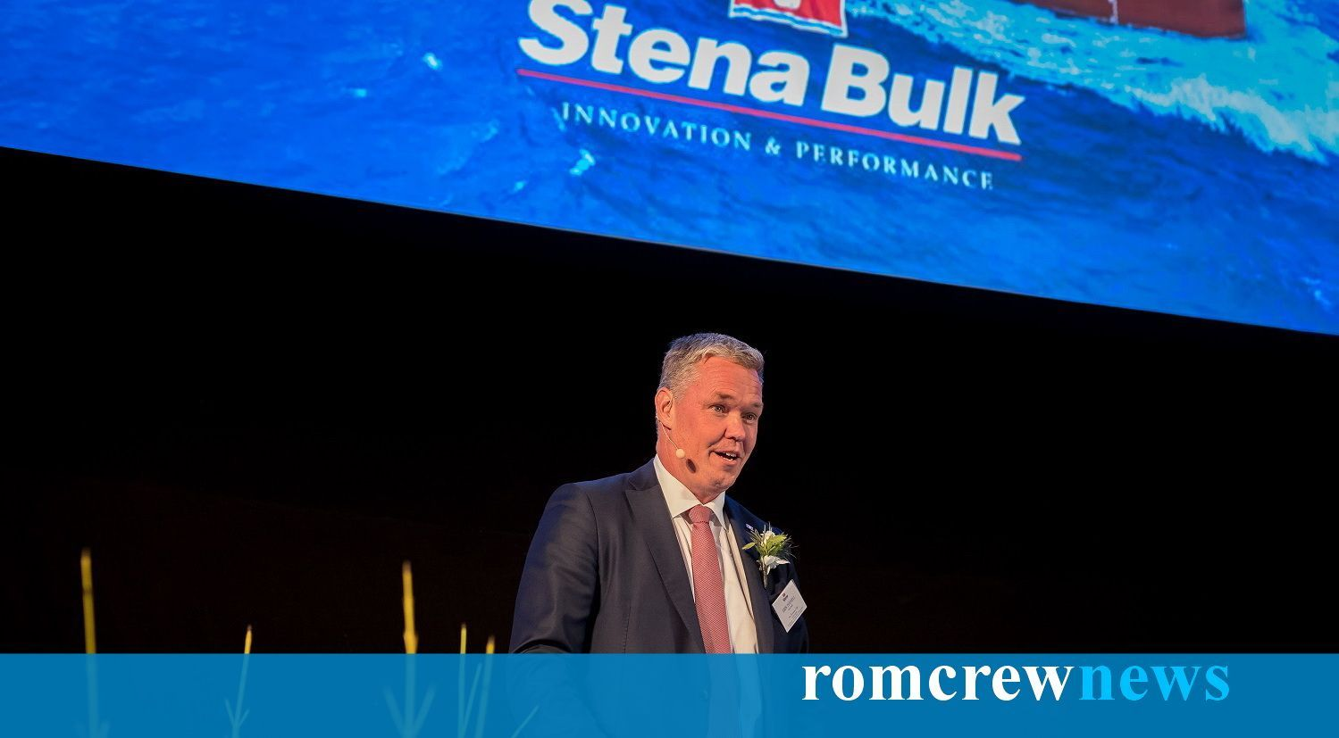 Digital naming of Stena Immortal and inauguration of new Stena office in Copenhagen - Romcrew